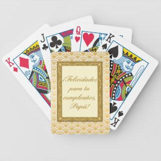 regalo cumpleaños padre personalizable cartas de juego