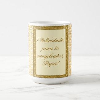 regalo cumpleaños padre personalizable taza de café