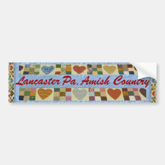 Regalo de Amish, pegatina para el parachoques del Pegatina De Parachoque