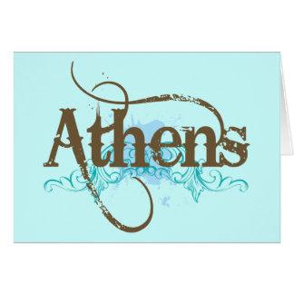 Regalo de Atenas Tarjetón
