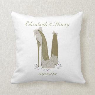 Regalo de boda almohada del favor