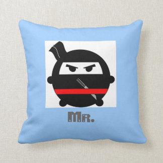 Regalo de boda de la almohada de tiro de Sr. Ninja