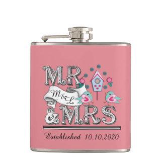 Regalo de boda de Sr. y de señora Personalized