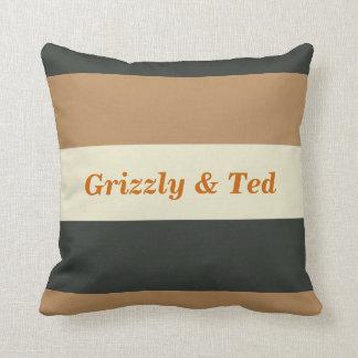 Regalo de boda gay simplificado de la almohada del cojín decorativo
