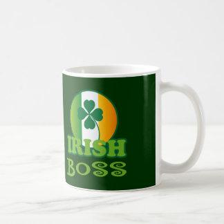 Regalo de Boss del irlandés Tazas De Café