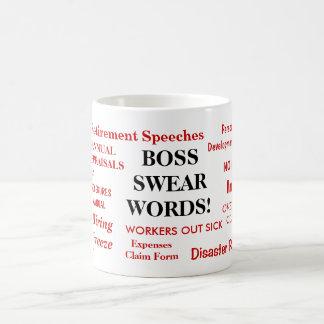 Regalo de Boss - la taza más grosera más divertida