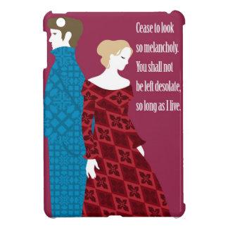 "Regalo de Charlotte Bronte ""Jane Eyre"" con cita iPad Mini Cárcasas"