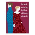"Regalo de Charlotte Bronte ""Jane Eyre"" con cita Tarjeta"