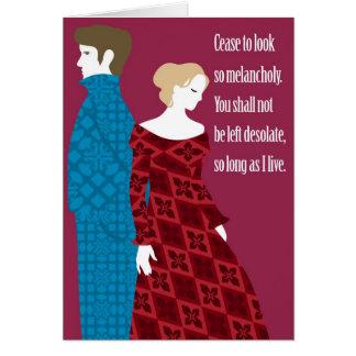"""Regalo de Charlotte Bronte """"Jane Eyre"""" con cita Tarjeta De Felicitación"""