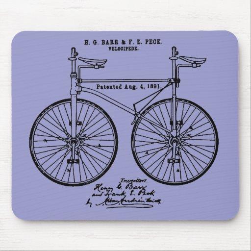 Regalo de ciclo muy fresco de la patente de Velo Alfombrilla De Ratones