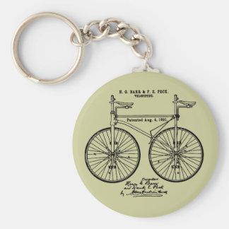 Regalo de ciclo muy fresco de la patente de Velo Llavero