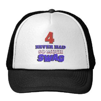 Regalo de cumpleaños de 4 años gorras