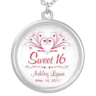 Regalo de cumpleaños del dulce 16 - collar de Swee