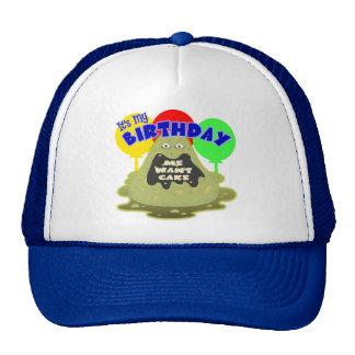 Regalo de cumpleaños del extranjero de espacio gorra