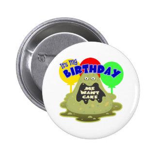 Regalo de cumpleaños del extranjero de espacio pins