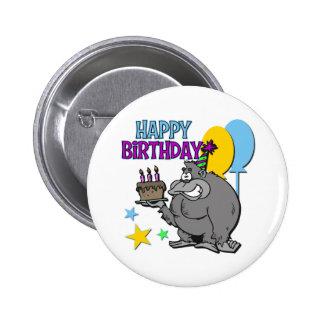 Regalo de cumpleaños del gorila pins