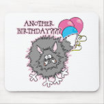 Regalo de cumpleaños divertido alfombrillas de ratón