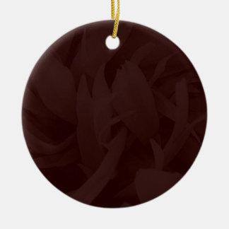 Regalo de cumpleaños único del diseño adorno redondo de cerámica