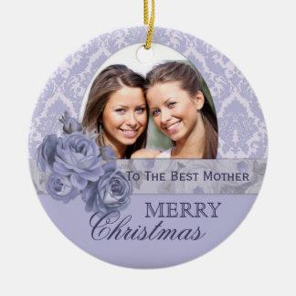 Regalo de encargo del navidad del ornamento de la