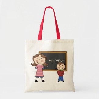 Regalo de encargo del profesor bolsas de mano