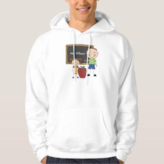 Regalo de encargo del profesor suéter con capucha
