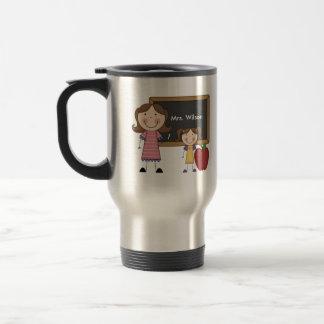 Regalo de encargo del profesor taza de café