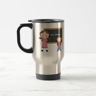 Regalo de encargo del profesor tazas de café