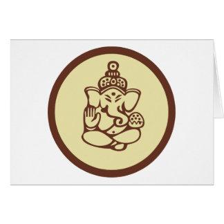 Regalo de Ganesha Tarjeta