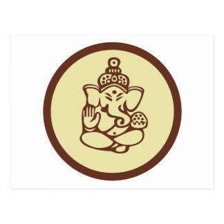 Regalo de Ganesha Postal