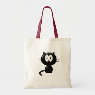 Regalo de Halloween del gato de Scardy del gato ne Bolsa Tela Barata