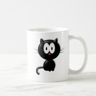Regalo de Halloween del gato de Scardy del gato Taza Clásica