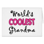 Regalo de la abuela felicitacion