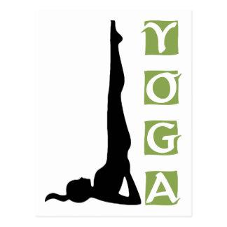 Regalo de la actitud de la yoga de la inversión postal