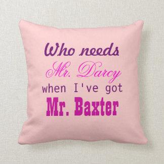 Regalo de la almohada del amor para Sr. casero