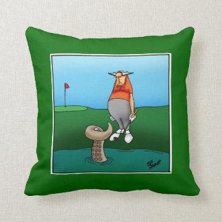 Regalo de la almohada del humor del golf