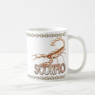 Regalo de la amistad del escorpión de Leo por Valx Tazas De Café