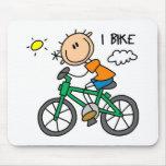 Regalo de la bicicleta tapete de raton