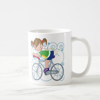Regalo de la bicicleta taza de café
