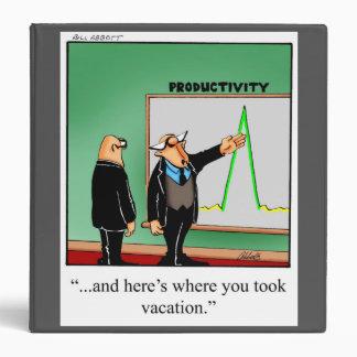 Regalo de la carpeta del humor de la oficina