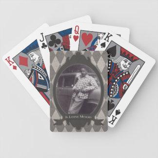 regalo de la ceremonia conmemorativa baraja de cartas