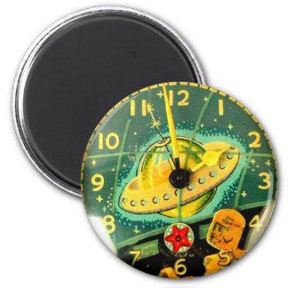 Regalo de la diversión del imán del reloj de reloj