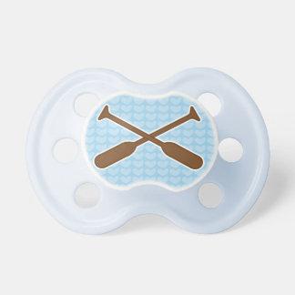 Regalo de la ducha del bebé de los deportes de los chupete de bebé