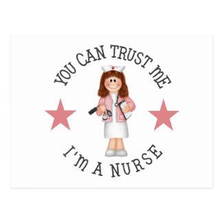 Regalo de la enfermera postales