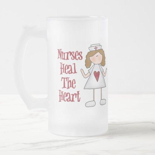 Regalo de la enfermera taza de café