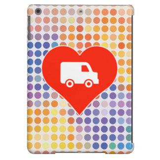 Regalo de la entrega de la logística funda para iPad air