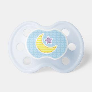 Regalo de la fiesta de bienvenida al bebé del espa chupetes de bebe