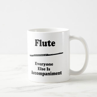 Regalo de la flauta tazas de café
