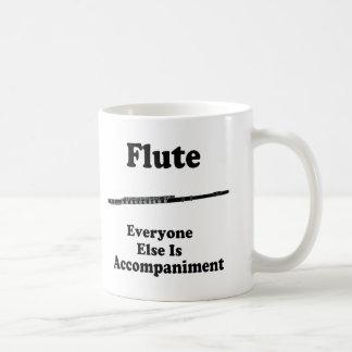 Regalo de la flauta taza clásica