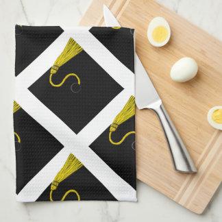regalo de la graduación toalla de cocina