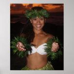 Regalo de la hawaiana poster
